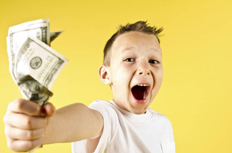 kak zarabotat dengi rebenku - Как заработать деньги ребенку