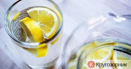 limon - Что стоит пить утром вместо кофе? - стакан воды с лимоном
