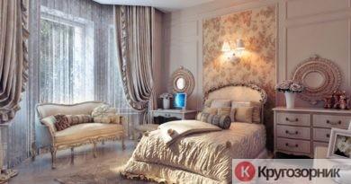spalnya v stile romantizma 390x205 - Спальня в стиле романтизма