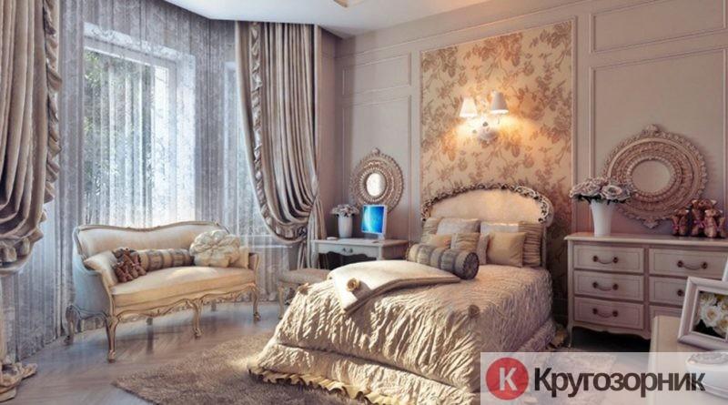 spalnya v stile romantizma 800x445 - Спальня в стиле романтизма