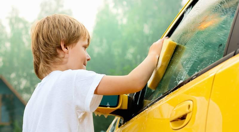 washingcar feature - Давать ли деньги ребенку?