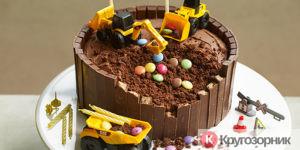 tort na detskij den rozhdeniya 300x150 - Детский праздник своими руками. Оформление и организация